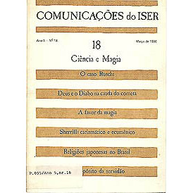 Comunicacoes do Iser Ano 5 No 18 Marc 1986 / Rubem Cesar Cord / 1350