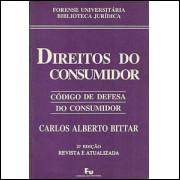 Direitos do Consumidor codigo de defesa do consumidor / Carlos Alberto Bittar / 1675