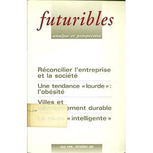 Futuribles analyse et prospective Mai 1996 No 209 / Futuribles / 2170