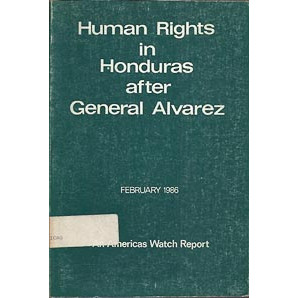 Human Rights In Honduras After General Alvarez / United States of America / 2471