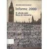 Informe 2000 El Olvido Está Lleno De Memoria / Amnistia Internacional / 2535