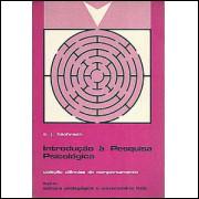 Introdução A Pesquisa Psicologica / Arthur J Bachrach / 2601