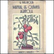 Manual De Quimica Agricola Adubos E Adubacao / E Malavolta / 2999