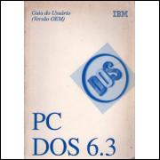 PC DOS 6.3 guia do usuario versao OEM / Ibm / 4163