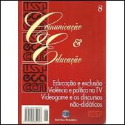Revista Comunicacao e Educacao Nro 08 / Usp; Editora Moderna / 4697