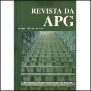 Revista da APG Ano 8 no 16 / Associacao de Pos Graduandos da Puc de Sao Paulo / 4722