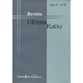 Revista Ultima Ratio Ano 1 nro 0 / Leonardo Sica Coord / 4920