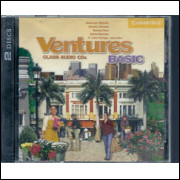 Ventures Basic Class Audio Cds - apenas os Cds / Gretchen Bitterlin / 5539