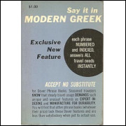 Say It In Modern Greek / George Pappageotes / 5690