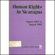 Human Rights In Nicaragua August 1987 To August 1988 / Americas Watch / 7775
