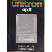 Microcomputador Unitron Ap Ii Manual De Instrucoes / Unitron / 7860