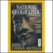 National Geographic Tesouros Imperiais Da China Antiga - Outubro 2001 / National Geographic / 8092