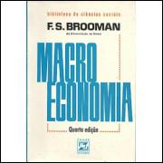 Macroeconomia / F S Brooman / 8545