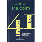 41 Inicios Falsos / Janet Malcolm / 8714