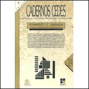 Cadernos Cedes nro 24 - Pensamento E Linguagem estudos na perspectiva da psicologia sovi / 9137