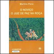 O Novico O Juiz De Paz Na Roca / Martins Pena / 9504