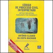 Codigo De Processo Civil Interpretado Artigo Por Artigo Paragrafo Por Paragrafo / 9624