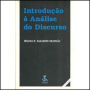 Introducao A Analise Do Discurso / Helena H Nagamine Brandao / 9680