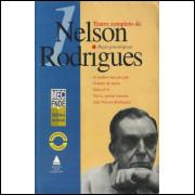 Teatro Completo De Nelson Rodrigues Vol 1 Pecas Psicologicas / Nelson Rodrigues / 10517