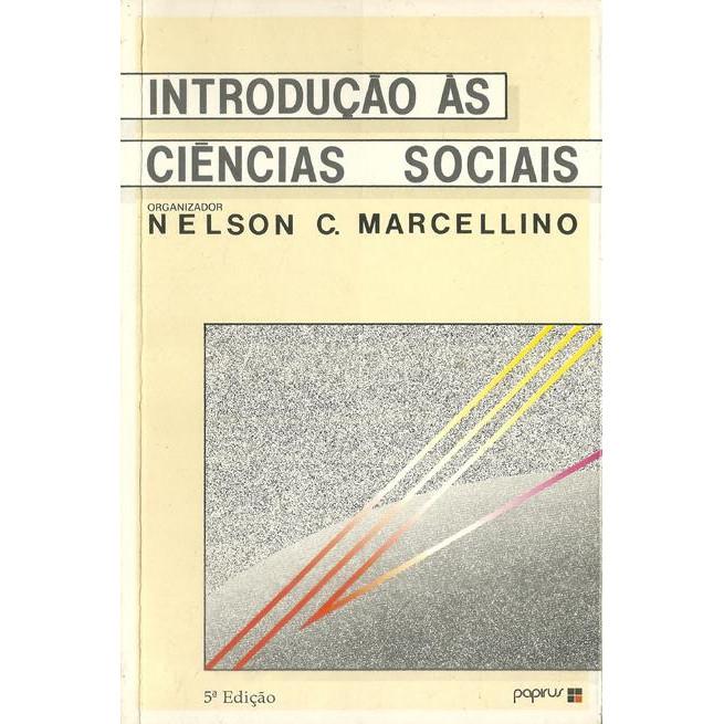 Introducao As Ciencias Sociais / Nelson C Marcellino / 10520