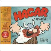 Hagar O Horrivel Tiras Diarias Completas 1973 1974 / Dik Browne / 10569