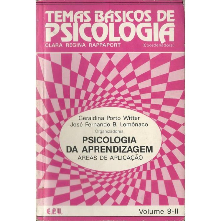 Psicologia Da Aprendizagem Areas De Aplicacao / 10616