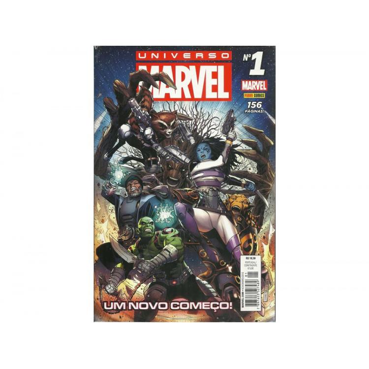 Universo Marvel Nro 1 Um Novo Comeco / Al Ewing; Paco Medina / 10673