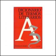 Dicionario De Termos Literarios / Massaud Moises / 10801