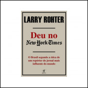 Deu No New York Times / Larry Rohter / 10818
