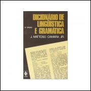 Dicionario De Linguistica E Gramatica / J Mattoso Camara Jr / 10840