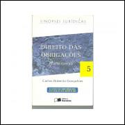 Direito das obrigacoes parte geral / Carlos Roberto Goncalves / 11279