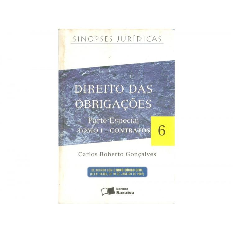 Direito das obrigacoes parte especial tomo 1 contratos / Carlos Roberto Goncalves / 11280