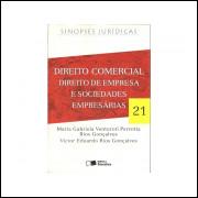 Direito comercial direito de empresa e sociedades empresarias / 11290