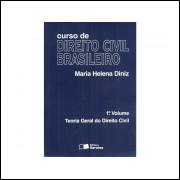 Curso De Direito Civil Brasileiro Vol 1 Teoria Geral Do Direito Civil / Maria Helena Diniz / 11304