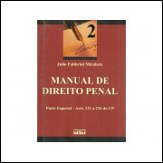 Manual De Direito Penal Vol 2 Parte Especial / Julio Fabbrini Mirabete / 11296