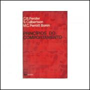 Principios Do Comportamento / C B Ferster; S Culbertson; M C Perrott Boren / 11362