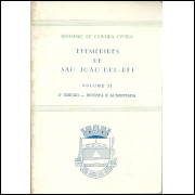 Efemerides De Sao Joao Del Rei Volume 2 / Sebastiao De Oliveira Cintra / 11514