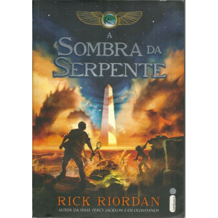 A Sombra Da Serpente / Rick Riordan / 11550