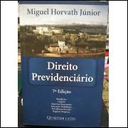 Direito Previdenciario / Miguel Horvath Jr / 13217
