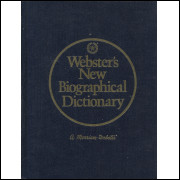 Webster-s New Biographical Dictionary / Merrian Webster Publishers / 13749