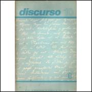 Revista Discurso Nro 10 Maio 1979 / Departamento De Filosofia Da Fflch Da Usp / 13857